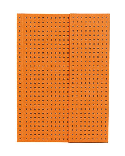 ペーパーオー ノート Orange on Grey A6 罫線 OH9024-3