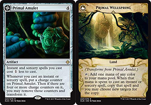 Wizards of the Coast Primal Amulet // Primal Wellspring - Ixalan