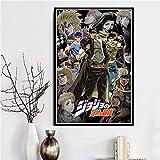 KWzEQ Hot Anime Adventure Gift Poster Print Photo decoración del hogar,Pintura sin Marco,60X90cm