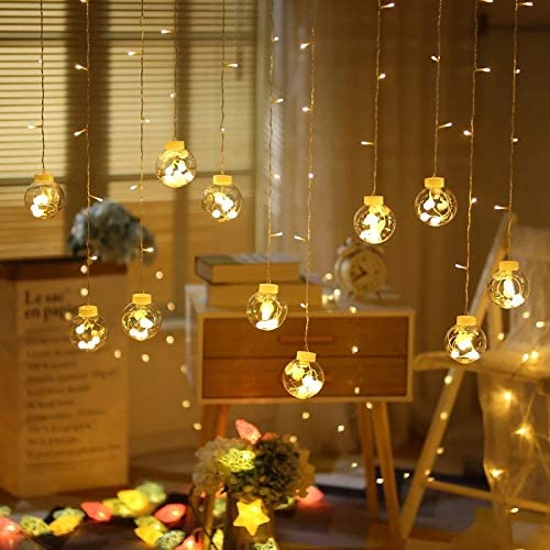 low-pricing Max 44% OFF lliang Decorative Light String Fairy LED Garland Ball Lig