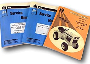 Lot International 86 108 128 129 Cub Cadet Service Operator Manuals Owner Repair