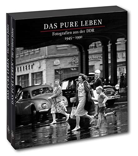 """Das pure Leben (Sonderausgabe): Die beiden Bildbände \""""Das pure Leben. Die frühen Jahre. 1945–1975\"""" und \""""Das pure Leben. Die späten Jahre. 1975–1990\"""" zusammen in einem Schuber."""
