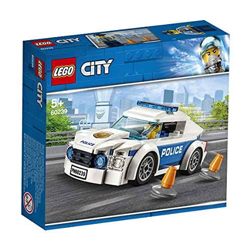LEGOCityPoliceAutodiPattugliadellaPoliziaconMinifiguradelPoliziotto,SetVeicolidaInseguimentoperBambini,60239
