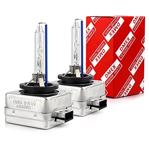 DMEX D1S Xenon HID Headlight Bulbs 6000K Cold White 35W 66144 66140...