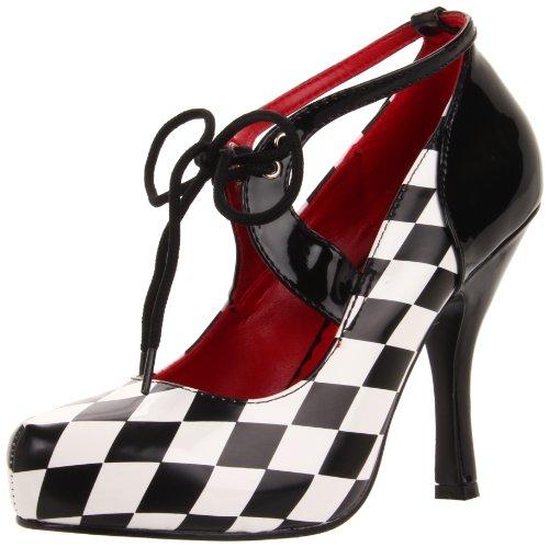 Funtasma HARLEQUIN-03 - Zapatos Carnaval Traje Halloween, US-Damen:EU-36/US-6/UK-3