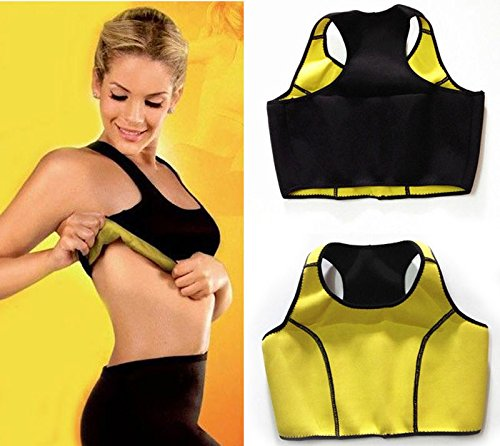 takestop® TOP dames HOT maat M CANOTTA SHAPERS FASCHING MAGNETE DIMAGRANE PALESTRA SAUNA SUDA FITNESS