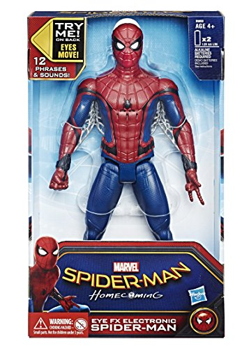 Marvel - Spiderman figura electronica (Hasbro B9693105)