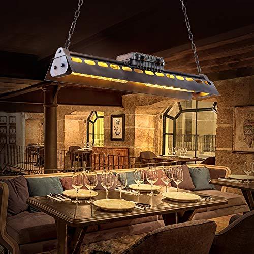KJLARS Lámpara de Techo Vintage Iluminación colgante araña Luces E27 Bombilla Lámparas de araña estilo industrial Iluminación colgante Es Adecuado para Cocina Cafetería Bar mesa de comedor 95cm