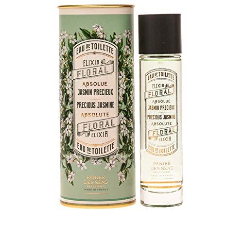 Panier des Sens Eau de Toilette, Fragrancia Jazmín - Made in France - 50 ml