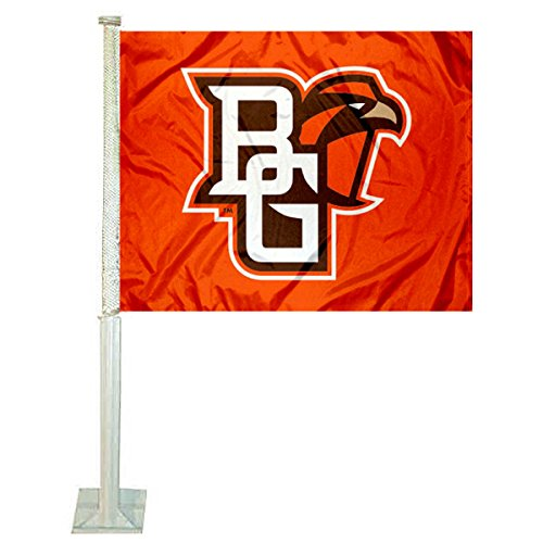 College Flags & Banners Co. BGSU Falcons Car and Auto Flag