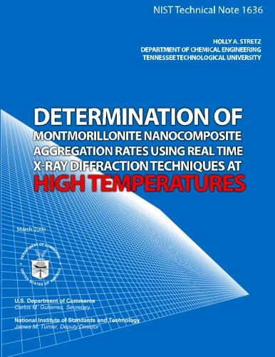 Determination of Montmorillonite Nanocomposite Aggregation Rates Using Real Time X-Ray Diffraction Techniques at High Temperatures