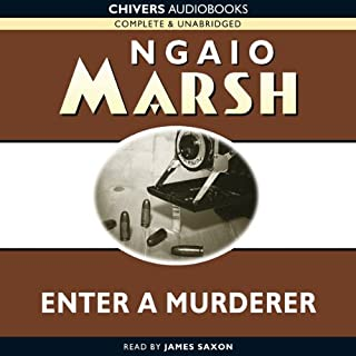 Enter a Murderer audiobook cover art