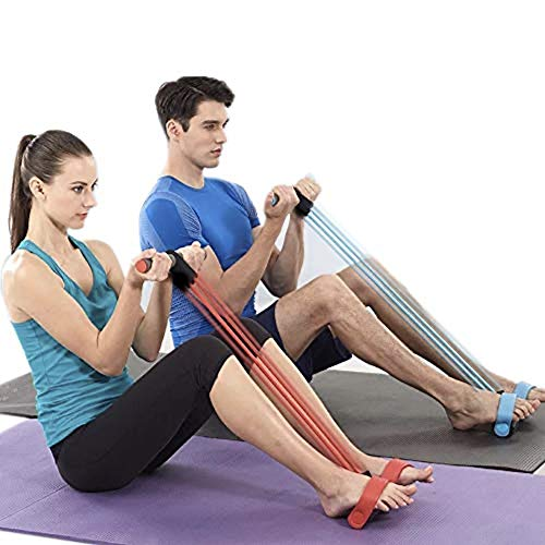 Fitness Sit-up Exercise Equipment Leg Trainer for Home Gym Yoga Workout Multifunction Arm Leg Exercise Slimming Training Abdominal Training(Random Color)