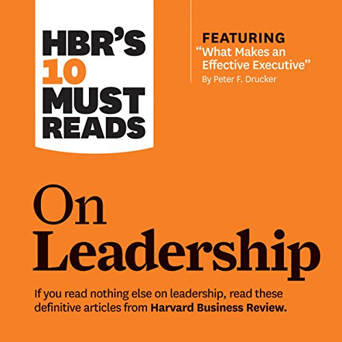 HBR's 10 Must Reads on Leadership audiobook cover art