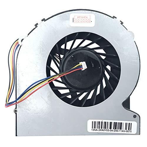 Ventilador Compatible con ASUS Transformer AiO P1801, P1802, Modelos AB10012HX25DB00, DC12V-0.55A
