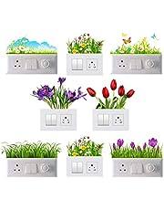 Decals prime™ Switch Board Sticker, Wall Art, Fridge Sticker,Stiker Light Switch Stickers