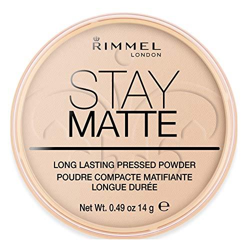 Rimmel Stay Matte Polvos compacto - 003 Peach Glow