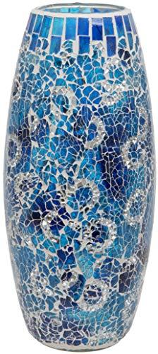 Jarrones Decorativos Cristal Azul jarrones decorativos  Marca Maturi