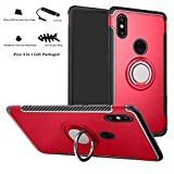 Labanema Xiaomi Mi Mix 2S Hülle, Ring Kickstand 360 Grad