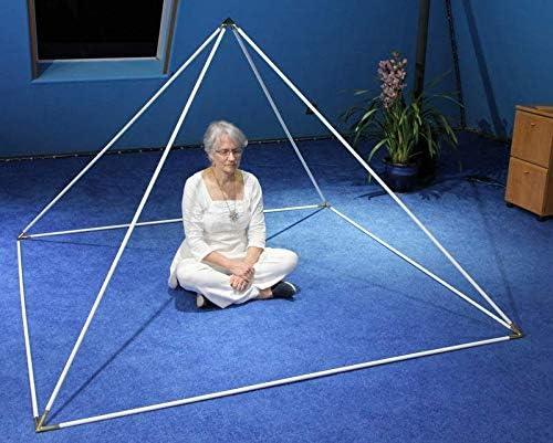 Meditation Pyramid - Enamel-Coated New item 51-Degree Mail order cheap