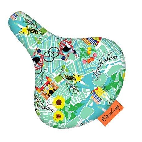 BikeCap(バイクキャップ) シティーサイクル用 サドルカバー ゲットロスト アムステルダムBc2_055