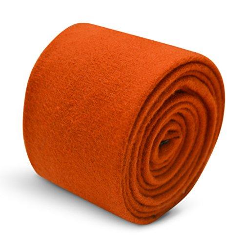 Frederick Thomas - Cravate - Homme Orange orange brûlé Taille unique