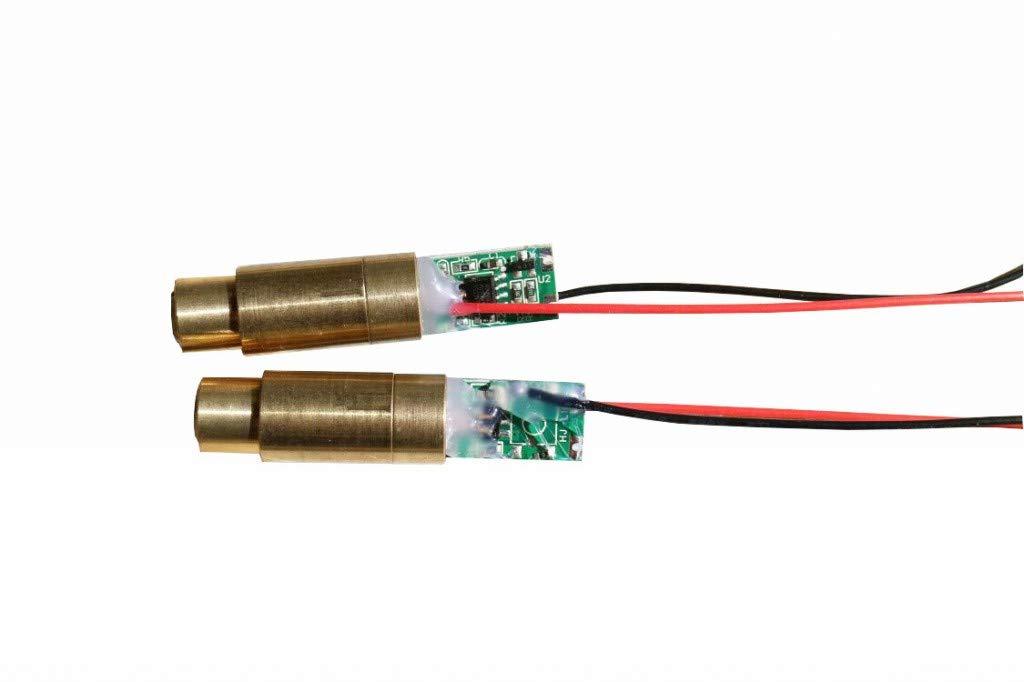farhop 5mW 532nm Green Laser Diode Module ECONOMICAL 532-D-12-48-G-5-3