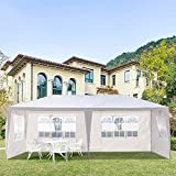LucaSng 10 x 20 ft Outdoor Tent Camping Pavilion Can be Used for Party Wedding Barbecue Waterproof Tent