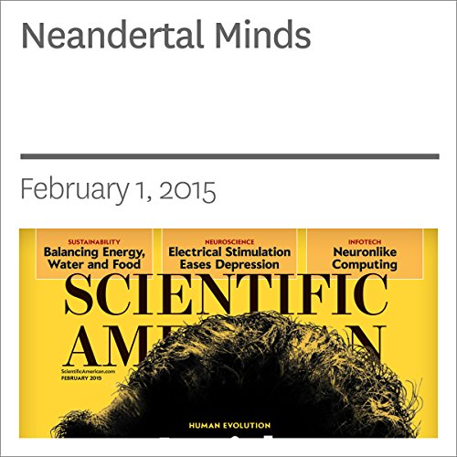 Neandertal Minds audiobook cover art