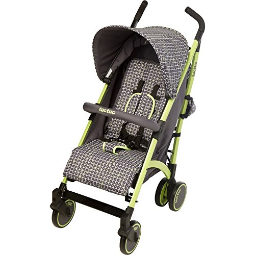 Tuc Tuc Yupy Weekend Hope - Silla de paseo, color negro / gris