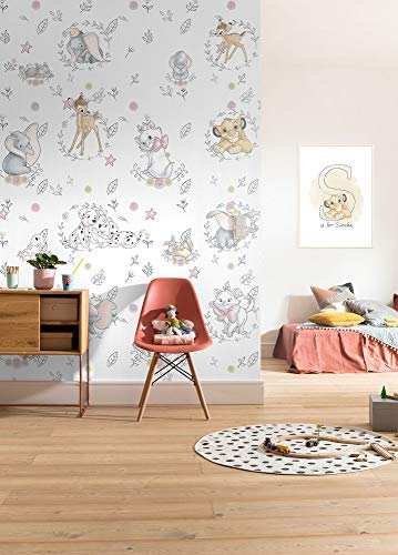 Disney fotobehang BEST OF FRIENDS - afmeting 200 x 280 cm, kinderkamer, babykamer, decoratie, behang