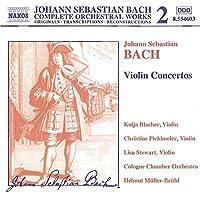 Violin Concertos by J.S. BACH (2000-01-25)