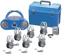 12 station bluetooth wireless listening center