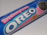 Oreo Sanwich Cookies Strawberry Cream Flavor Amazing of Thailand
