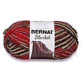 Bernat Blanket Yarn, Raspberry Trifle