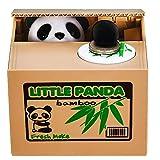 HmiL-U Panda Stealing Money Bank, Piggy Bank for Kids, Coin Bank for Money Saving, Automat...