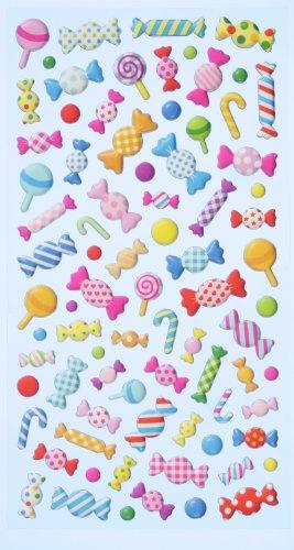 Creapop Sticker Softysticker * Bonbon - Bonbons - Karneval - Fasching * Aufkleber 3451128