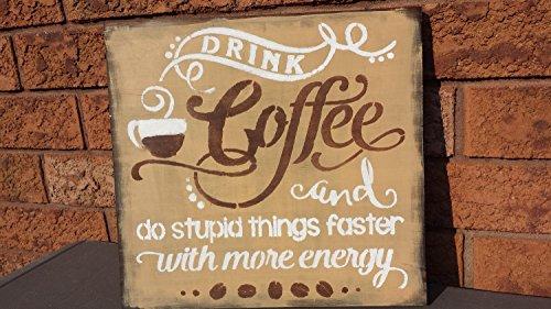 Norma Lily Kaffee Humor Coffee Shop Schild Kaffee loverfriendco workerbossgag Geschenk Büro Decor