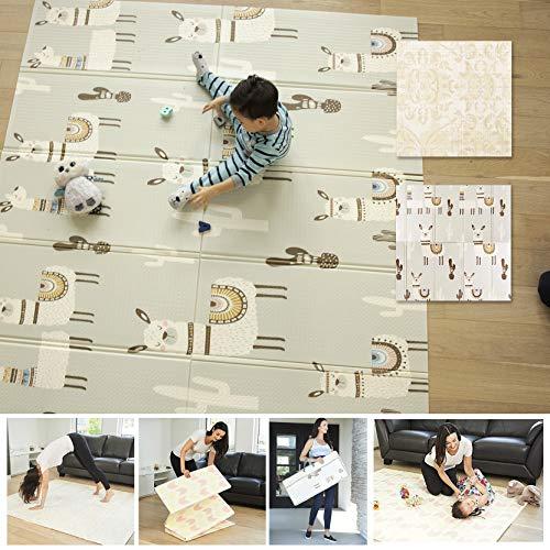 Imagen del producto de la alfombra de juego plegable de Llama