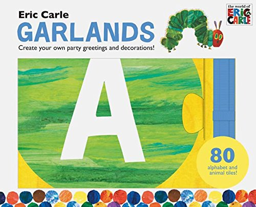 Eric Carle Hanging Letters (Kids Room Decorations, Banner Letters for Kids, Garland Letters)