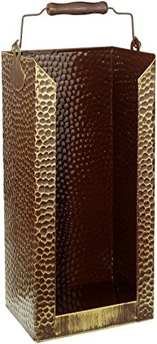 Kamino-Flam - Cubo para leña, Cesta para carbón, Contenedor para leña, Cajón de almacenamiento, Caja para almacenar leña y carbón - 20/15/40 cm