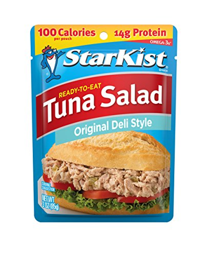 StarKist Ready-to-Eat Tuna Salad, Original Deli Style, 3 Ounce (Pack of 24)