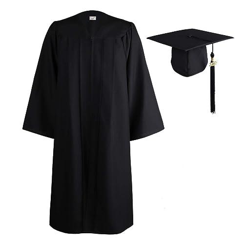 OSBO GradSeason Matte Graduation Gown Cap Tassel Set 2019 for High School  and Bachelor 2e91f379add8