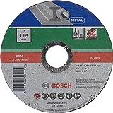 Bosch Mola Taglio Dritta, Metallo 115 x 22.23 x 1.6 mm...