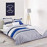 Lacoste Auckland Comforter Set, Blue, Full/Queen