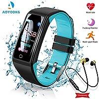 ⌚ [2020 Fashion Smart Watch] Bello e facile da indossare. È un regalo molto alla moda. La batteria ricaricabile integrata si ricarica completamente in circa due ore e può essere utilizzata per un lungo periodo di standby di 15 giorni e una durata nor...