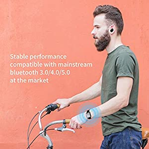 16GB Bluetooth MP3 Player with Clip for Running, Sports Watch MP3 Player with Voice Recorder, FM Radio, Pedometer, Support up to 128GB
