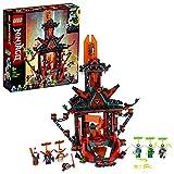 LEGO Ninjago - Templo Imperial de la Locura, Set de Construcción de Edificio de Juguete para Recrear Aventuras, Incluye Minifiguras de Digi Jay, Lloyd y Cole, entre Otros (71712)