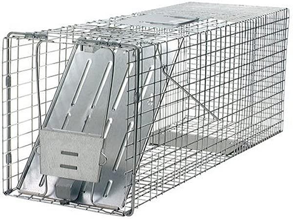 Havahart 1079 Large 1 Door Humane Animal Trap For Raccoons Cats Groundhogs Opossums