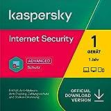 Kaspersky Internet Security 2021 | 1 Gerät | 1 Jahr | Windows/Mac/Android | Aktivierungscode per...
